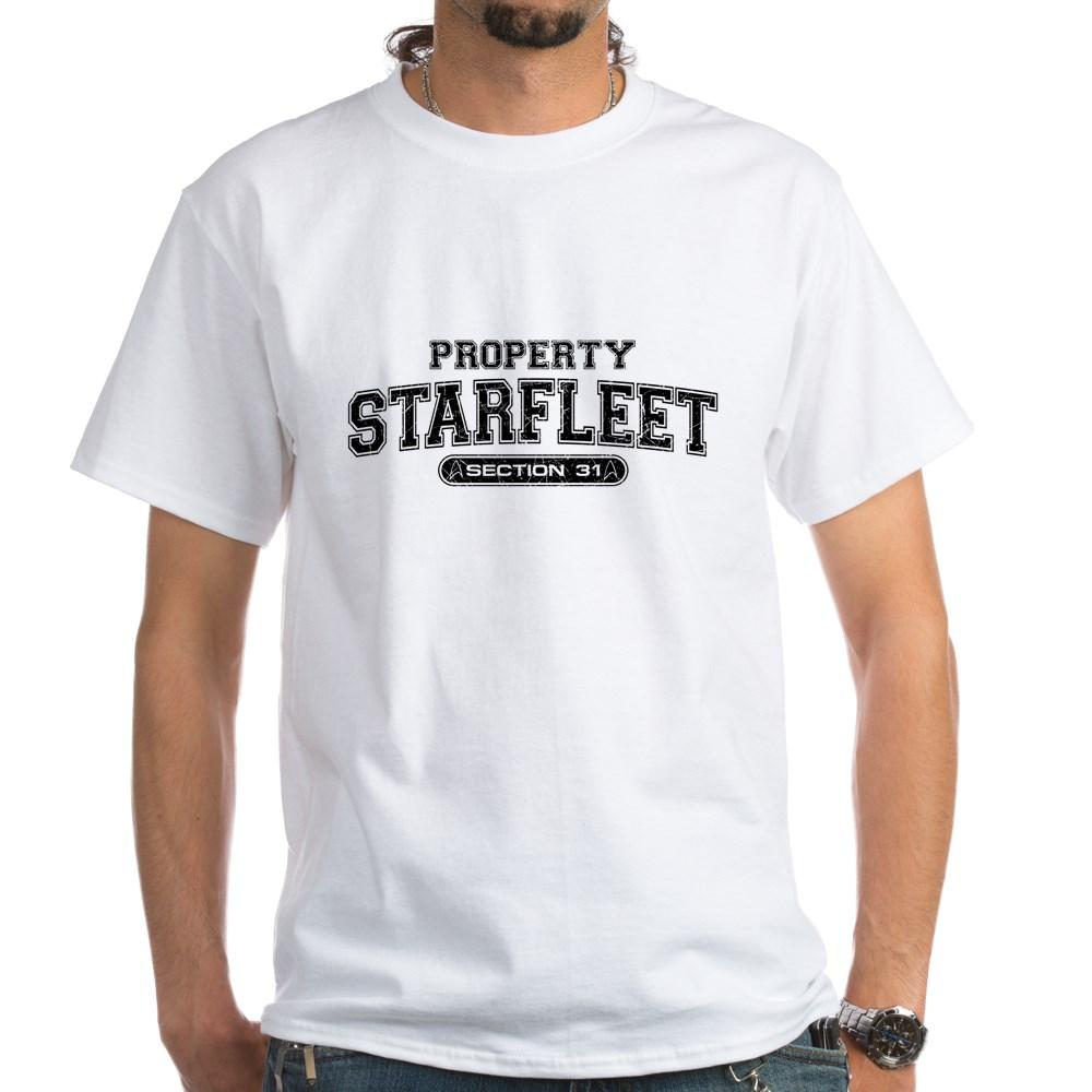 Property Starfleet Section 31 White T-Shirt