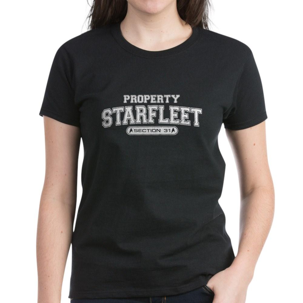Property Starfleet Section 31 Women's Dark T-Shirt