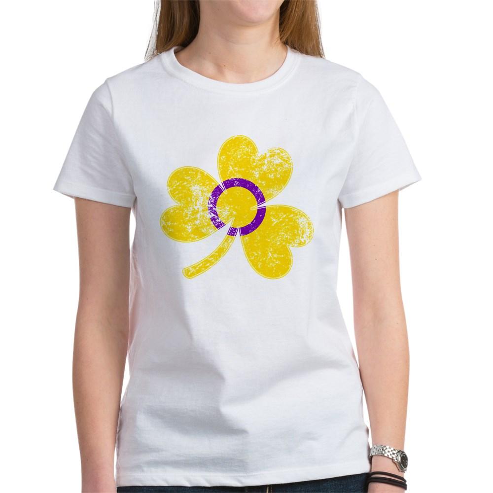 Intersex Shamrock Pride Flag Women's T-Shirt