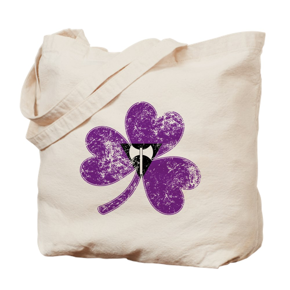 Lesbian Labrys Shamrock Pride Flag Tote Bag