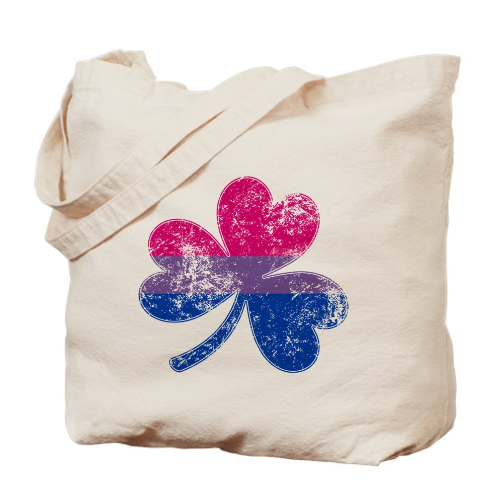 Bisexual Shamrock Pride Flag Tote Bag