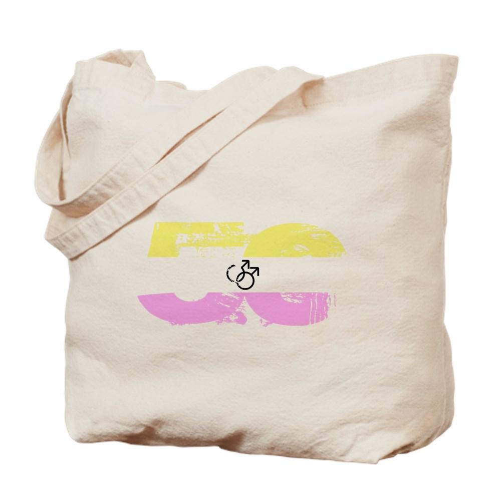 Gay Twink Grunge 50 Pride Flag Tote Bag