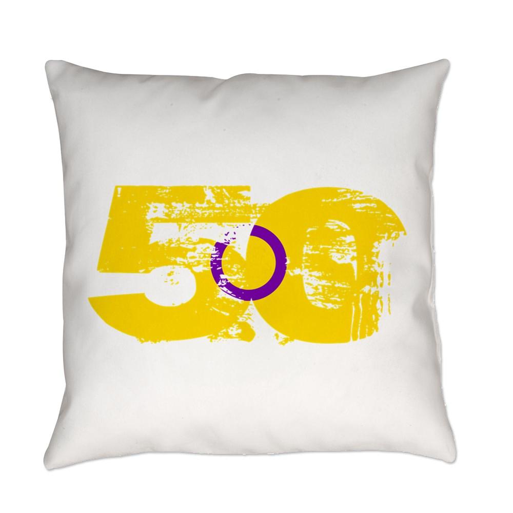 Intersex Grunge 50 Pride Flag Everyday Pillow