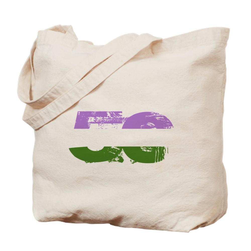 Genderqueer Grunge 50 Pride Flag Tote Bag