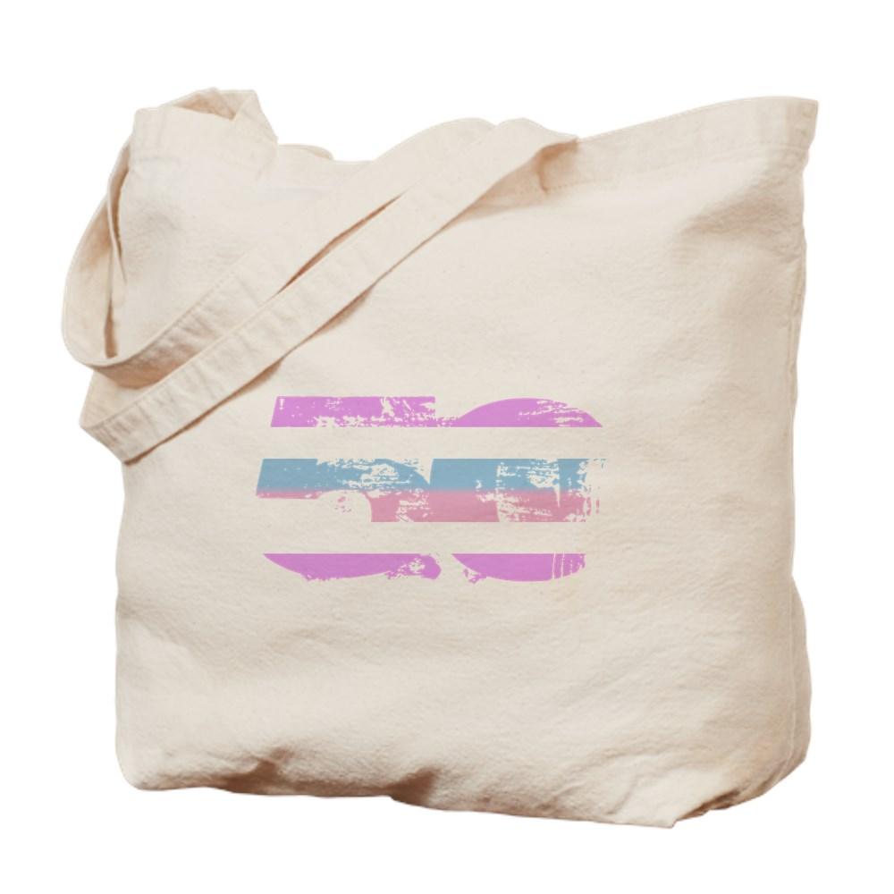 Bigender Grunge 50 Pride Flag Tote Bag
