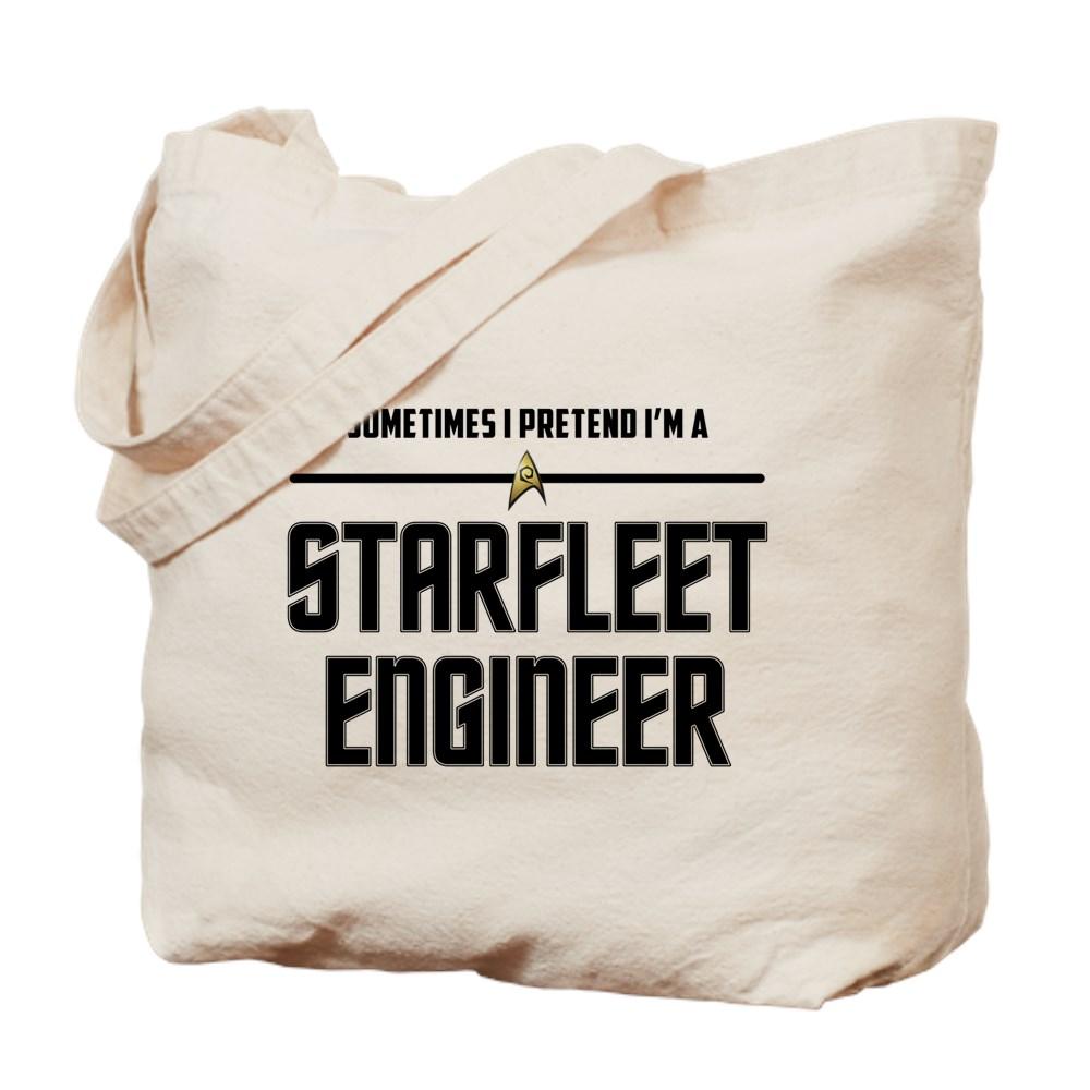 Sometime I Pretend I'm a Starfleet Engineer Tote Bag