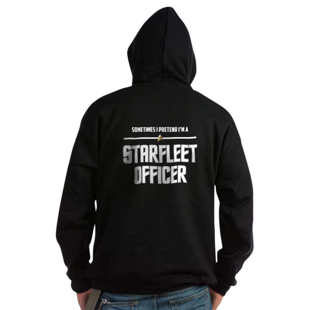 Pretend I'm a Starfleet Officer - Command Dark Hoodie