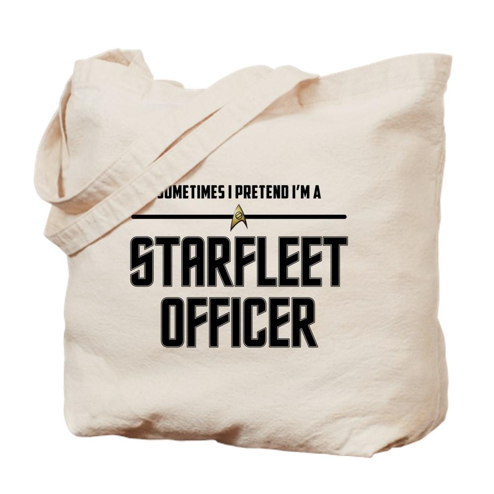 Pretend I'm a Starfleet Officer - Science Tote Bag