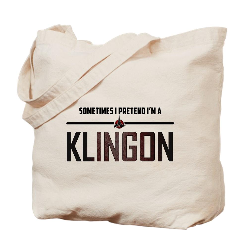 Sometimes I Pretend I'm a Klingon Tote Bag