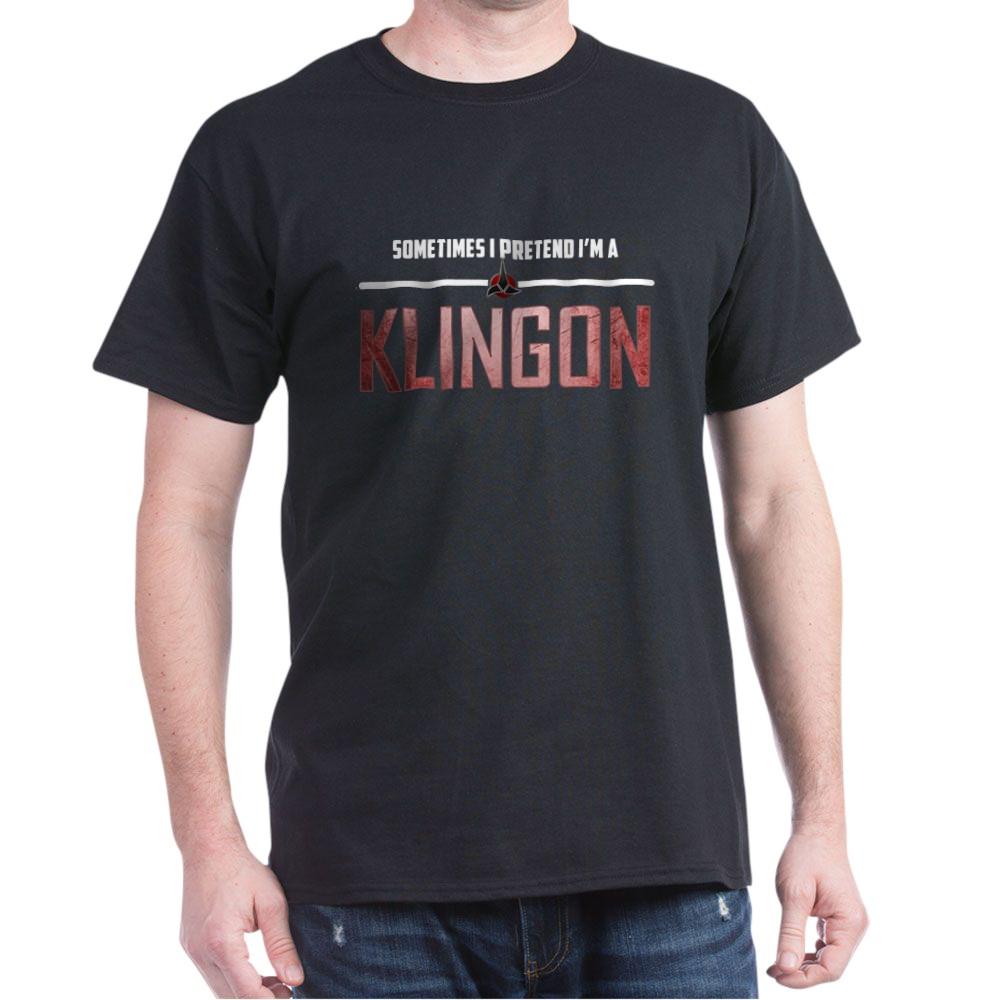 Sometimes I Pretend I'm a Klingon Dark T-Shirt