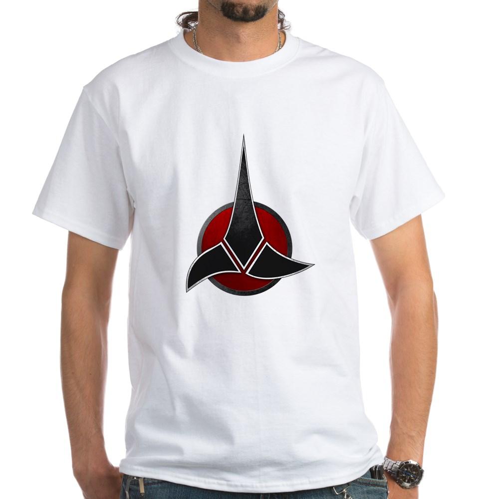 Klingon Emblem White T-Shirt