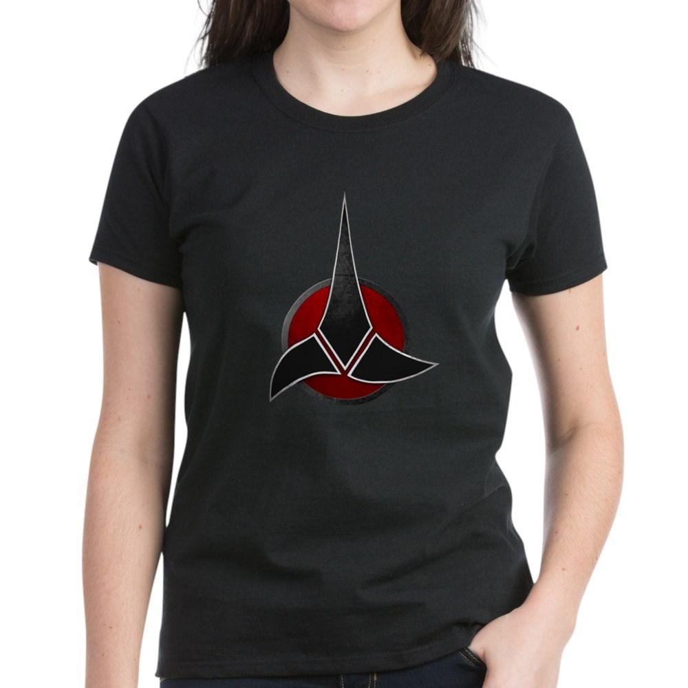 Klingon Emblem Women's Dark T-Shirt