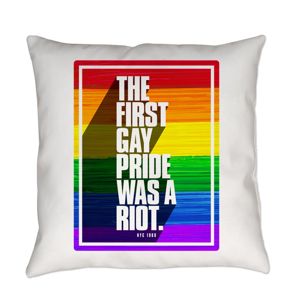The First Gay Pride Was A Riot Everyday Pillow