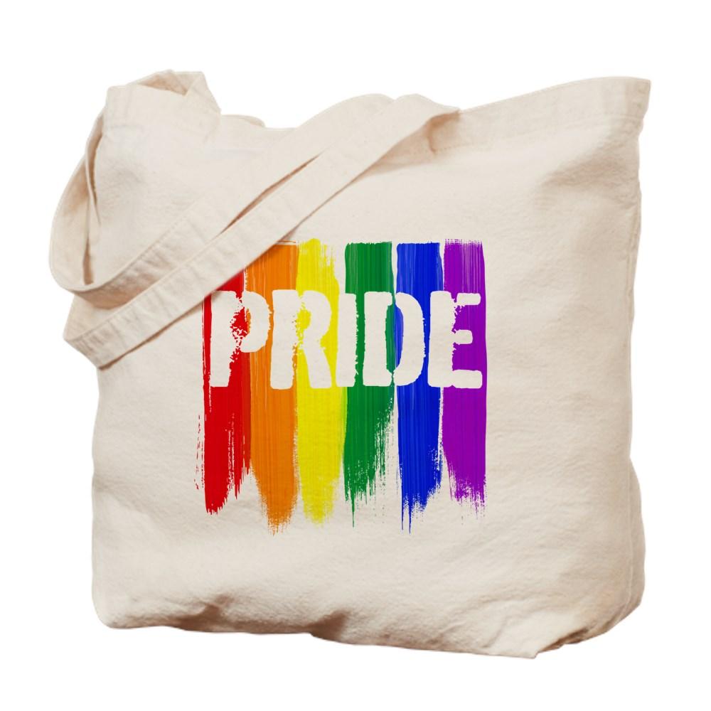 LGBTQ Pride Brush Strokes Tote Bag