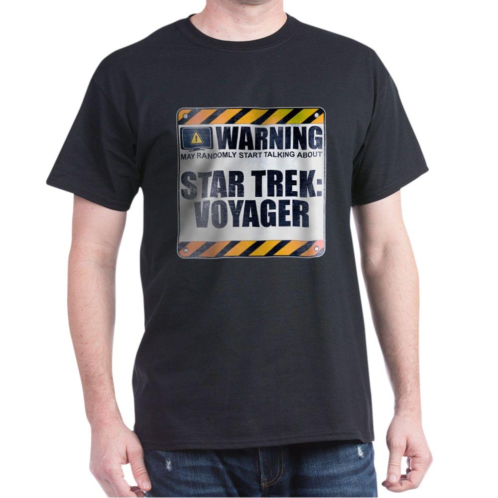 Warning: Star Trek: Voyager Dark T-Shirt