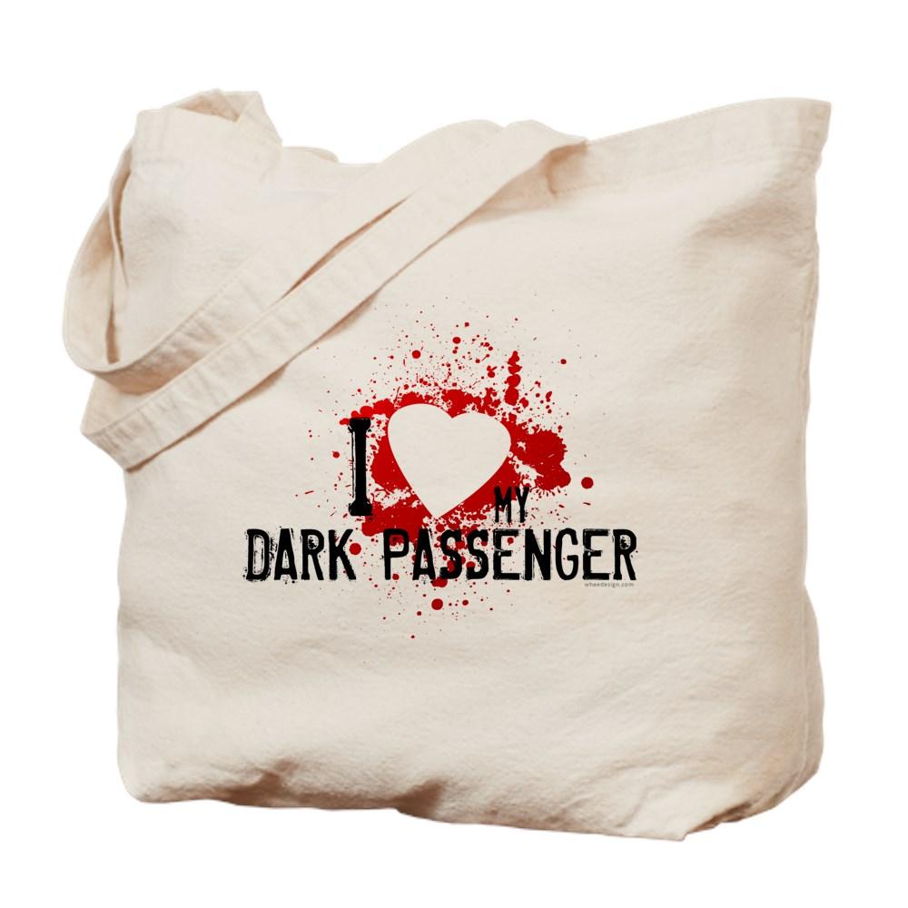 I Heart My Dark Passenger Tote Bag
