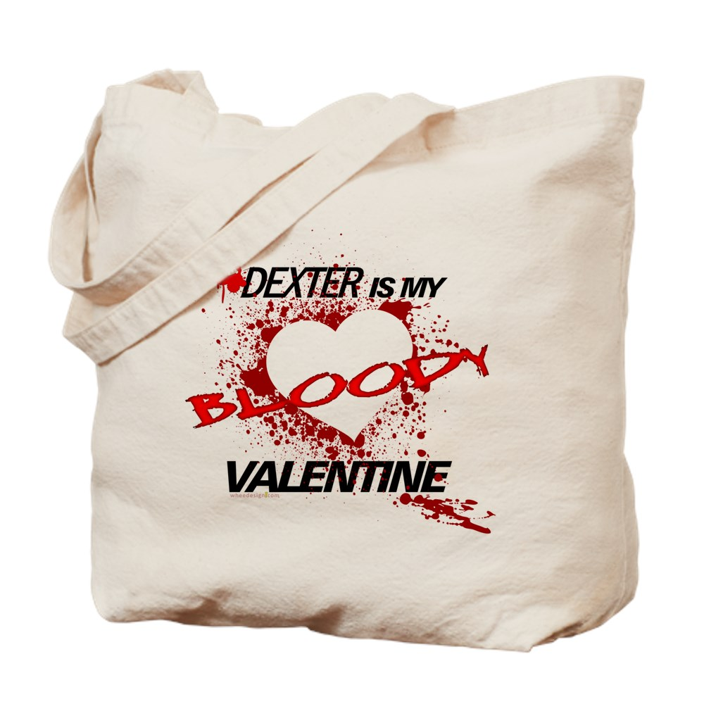Dexter Is My Bloody Valentine Tote Bag