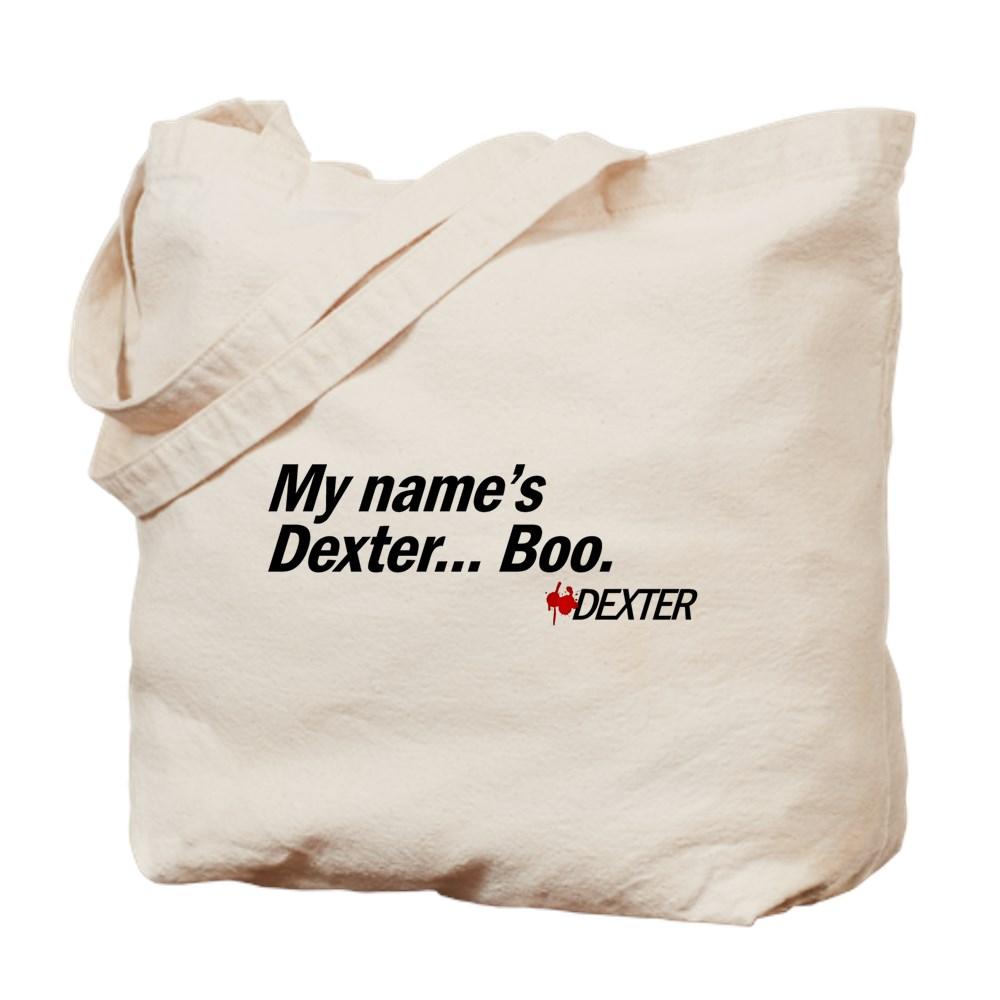 My name's Dexter... Boo. - Dexter Tote Bag