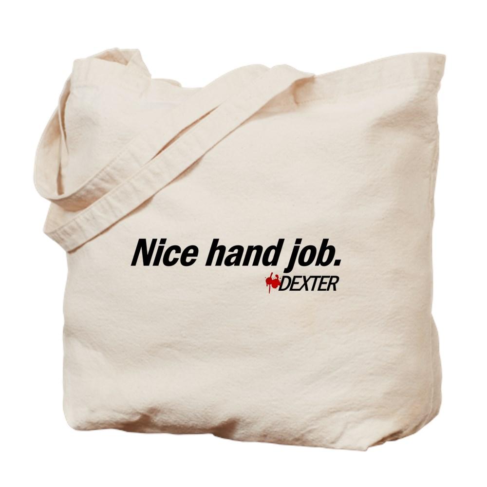 Nice Hand Job - Dexter Tote Bag