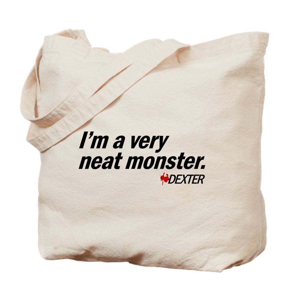 I'm a Very Neat Monster - Dexter Tote Bag