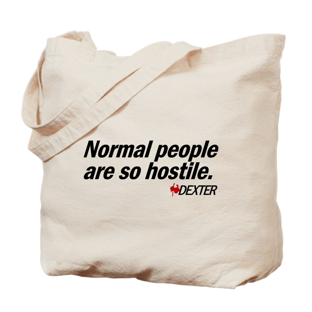 Normal People Are So Hostile - Dexter Tote Bag