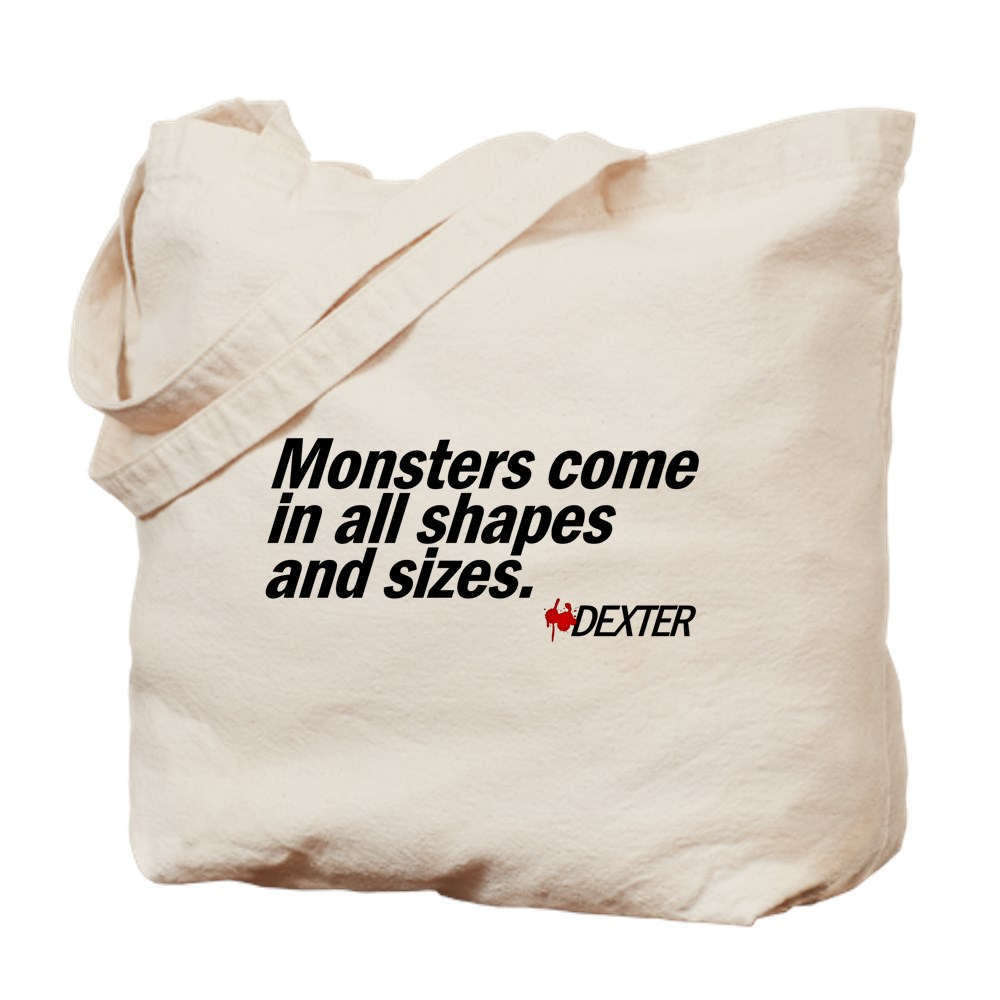 Monsters Come In All Shapes and Sizes - Dexter Tote Bag