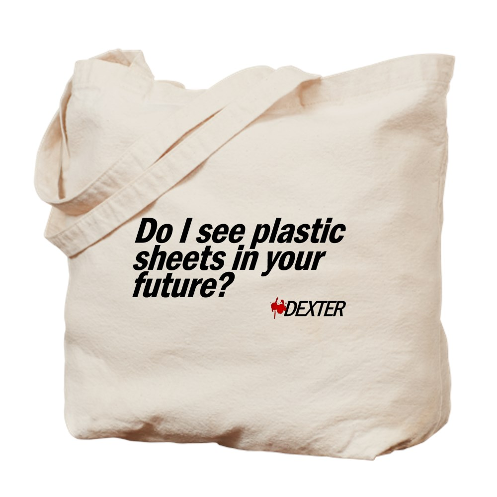 Do I See Plastic Sheets In Your Future? - Dexter Tote Bag
