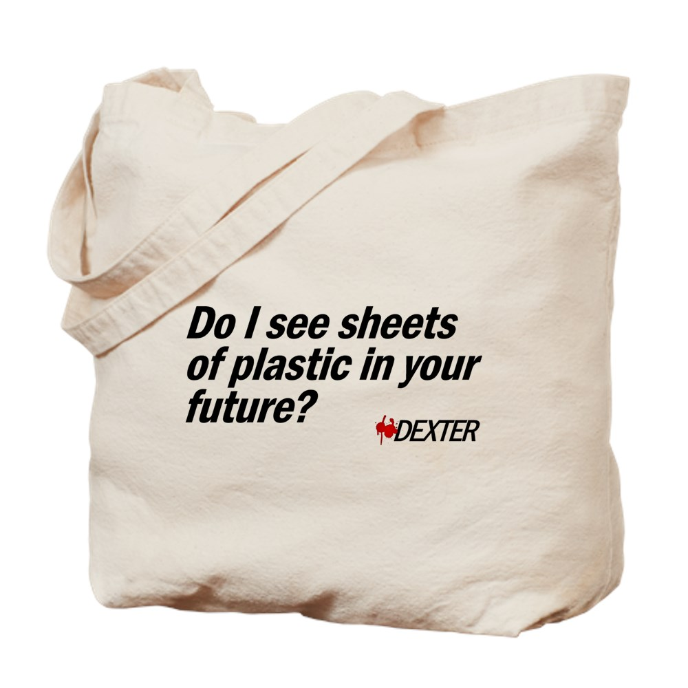 Do I See Sheets of Plastic in Your Future? Tote Bag