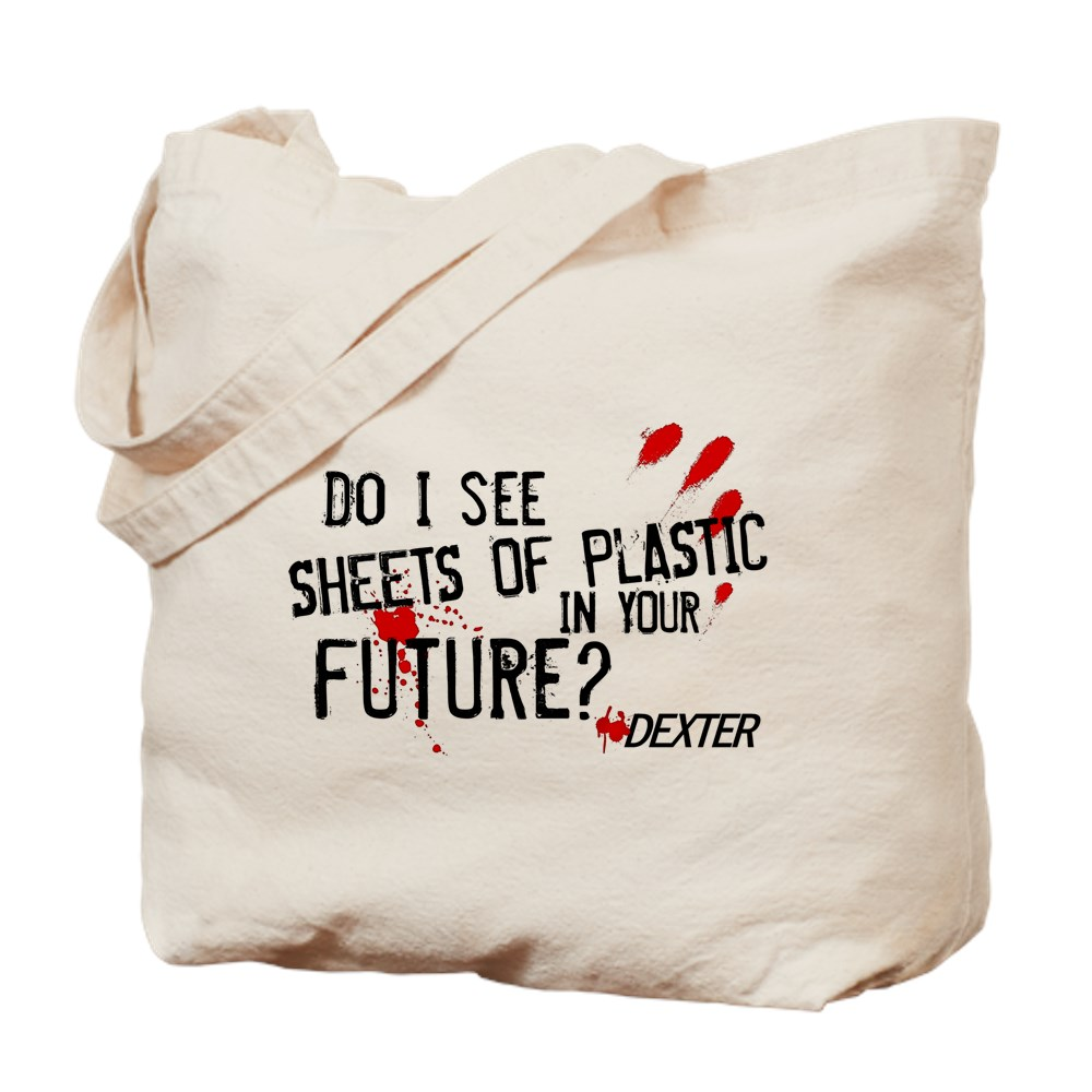 Bloody Sheets of Plastic in Your Future? Tote Bag
