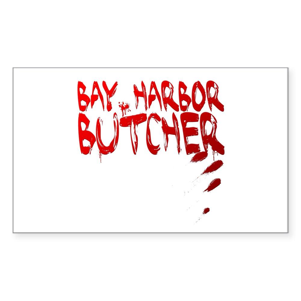 Bay Harbor Butcher Rectangle Sticker