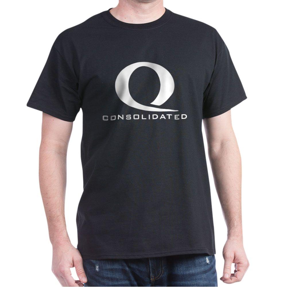 Queen Consolidated Logo Dark T-Shirt