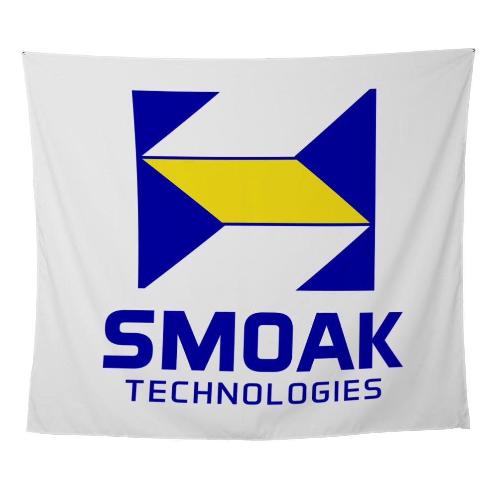 Smoak Technolgies Logo Wall Tapestry