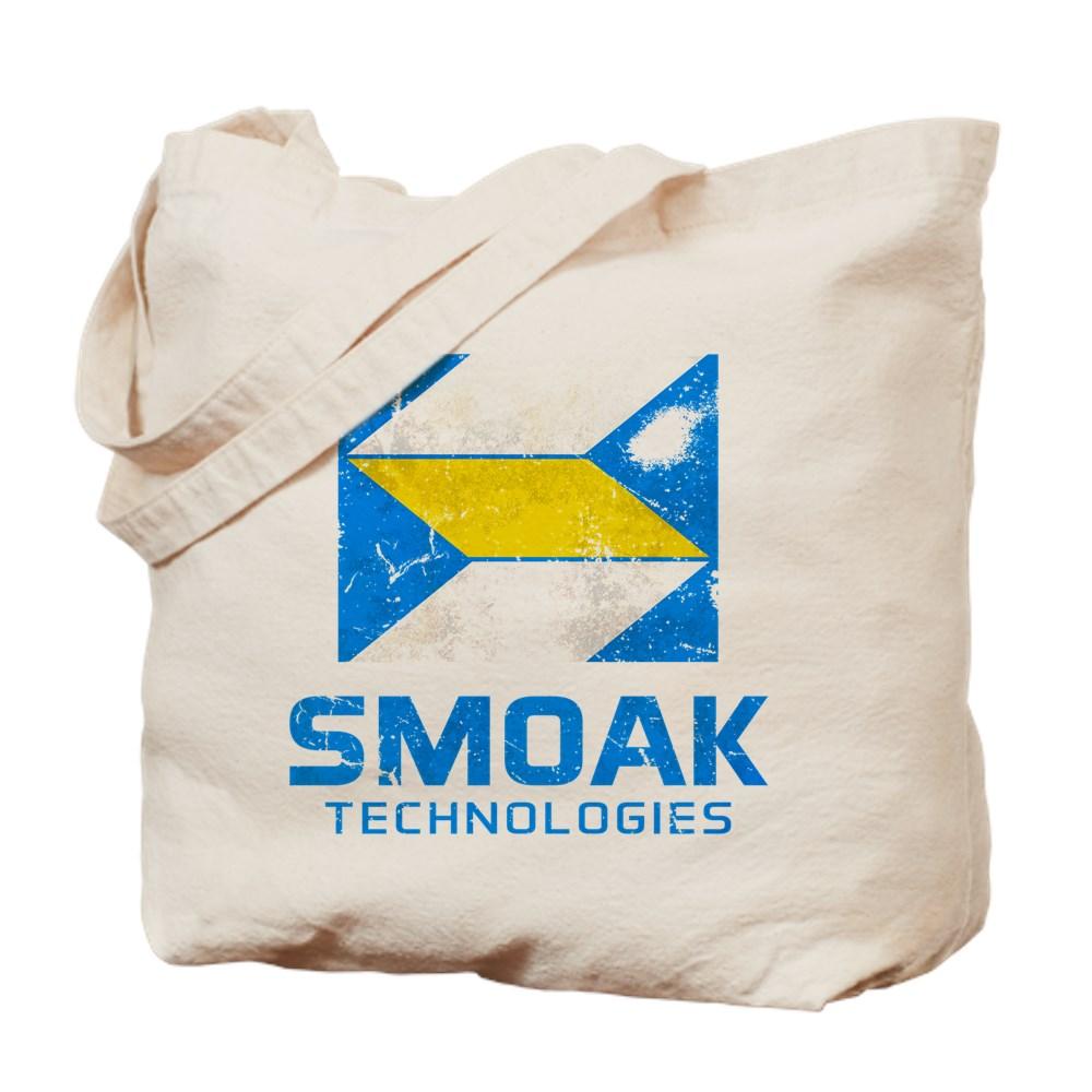 Distressed Smoak Technolgies Logo Tote Bag