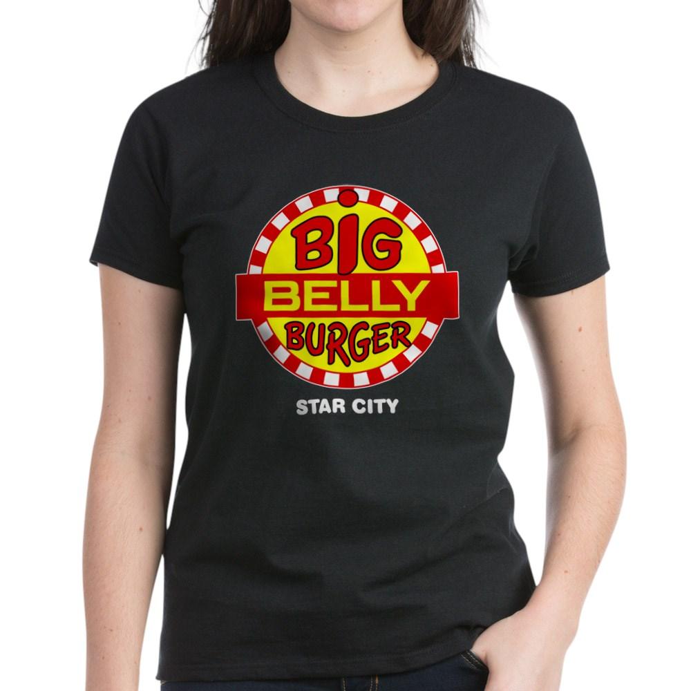 Big Belly Burger Star City Women's Dark T-Shirt