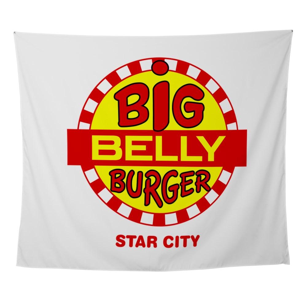 Big Belly Burger Star City Wall Tapestry