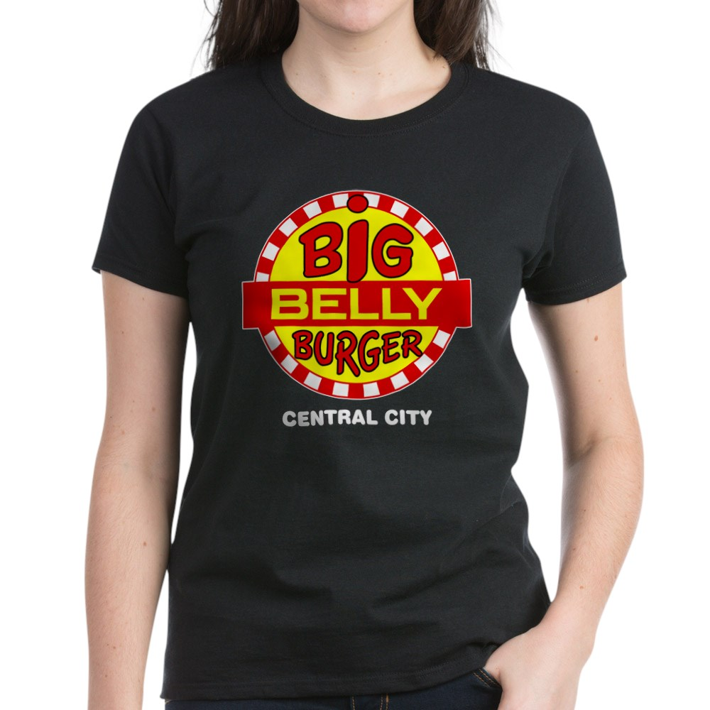 Big Belly Burger Central City Women's Dark T-Shirt