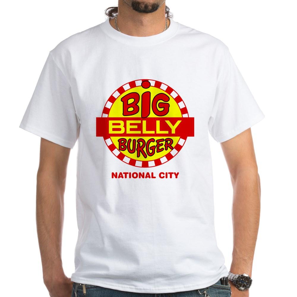 Big Belly Burger National City White T-Shirt