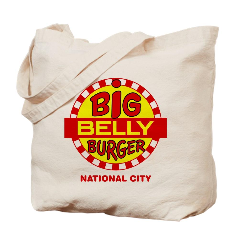 Big Belly Burger National City Tote Bag