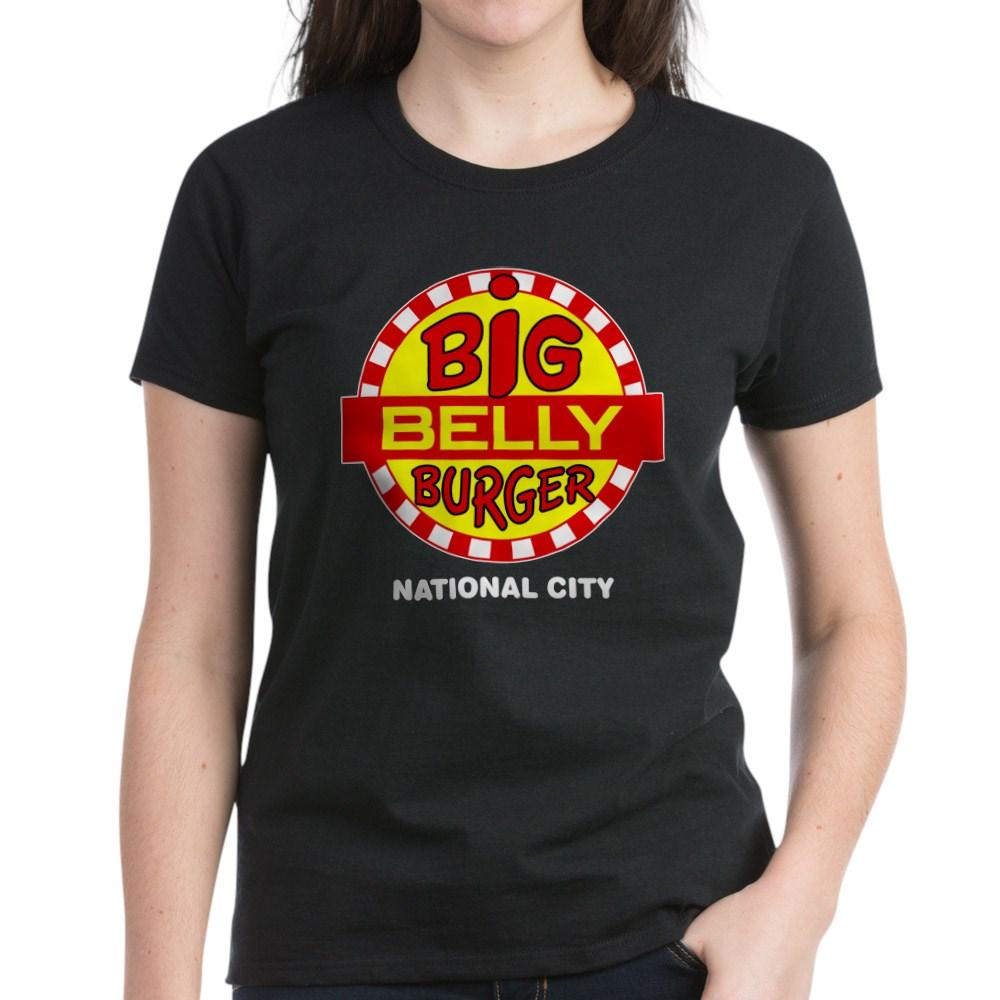 Big Belly Burger National City Women's Dark T-Shirt