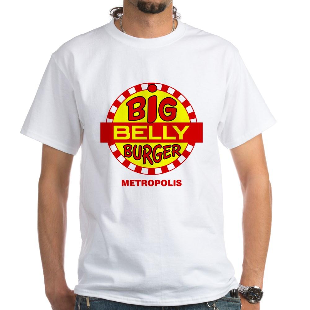 Big Belly Burger Metropolis White T-Shirt