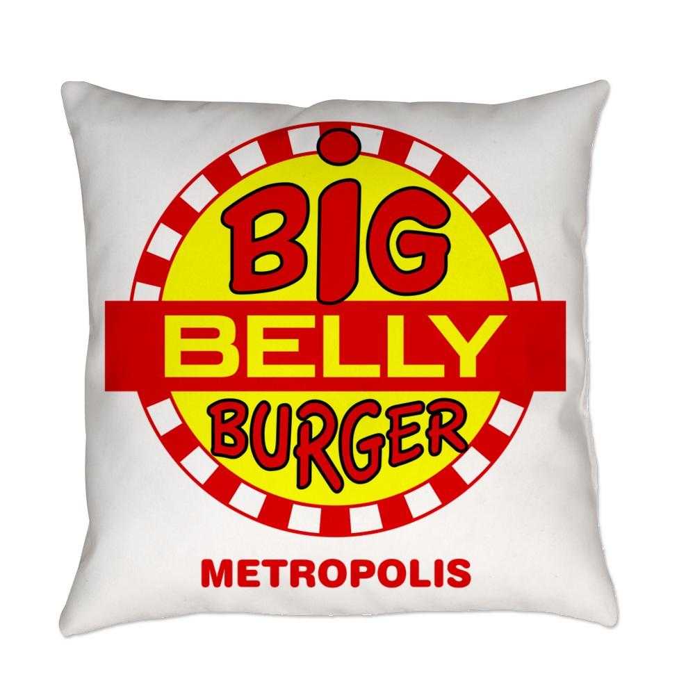 Big Belly Burger Metropolis Everyday Pillow