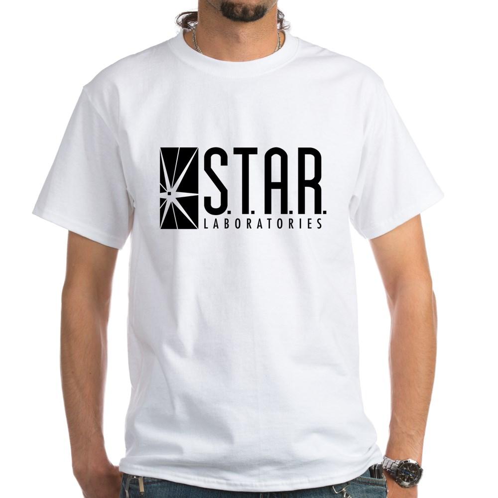Star Labs Logo White T-Shirt