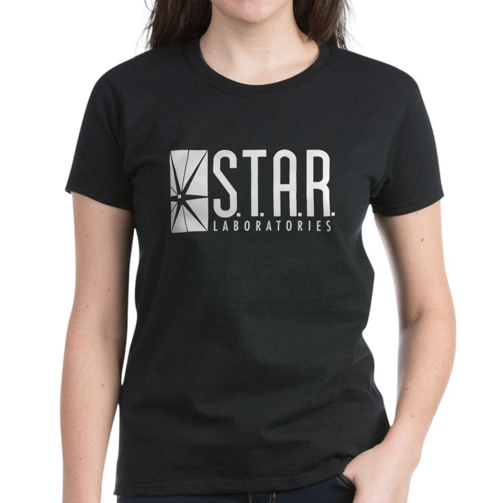 Star Labs Logo Women's Dark T-Shirt