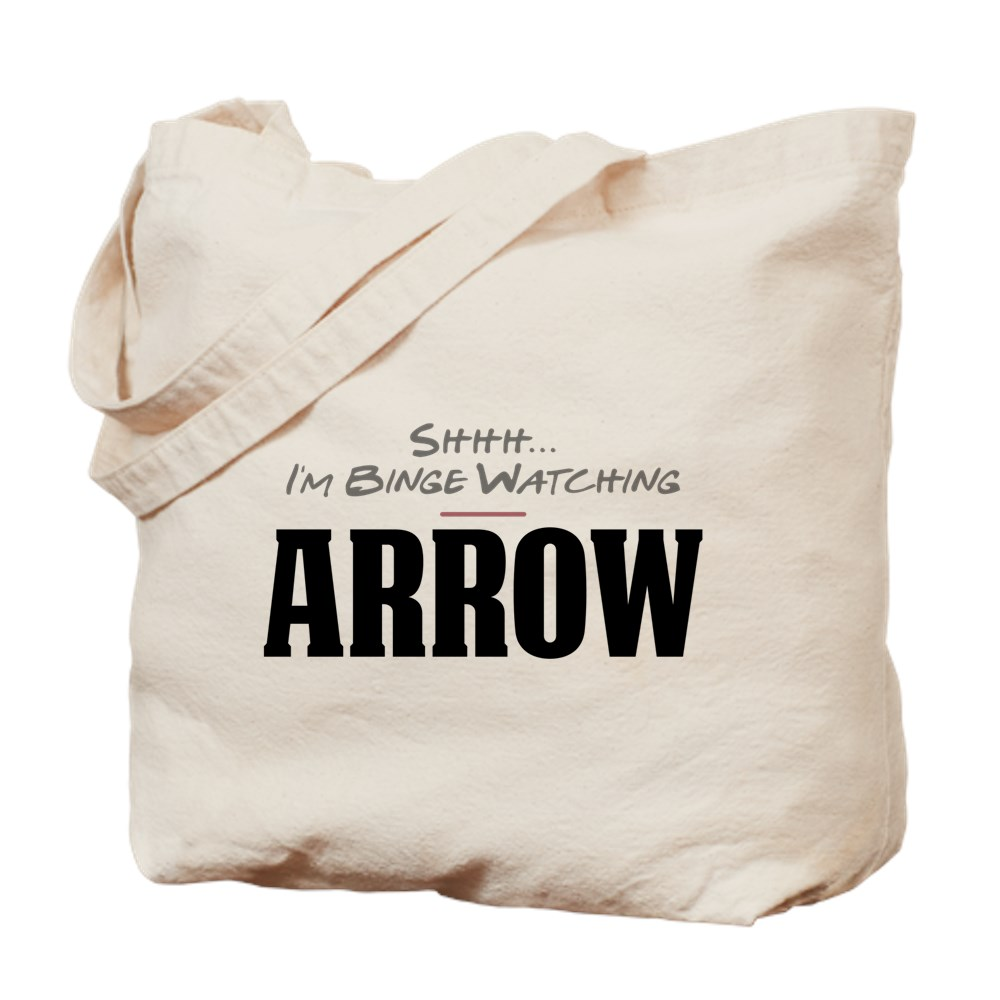 Shhh... I'm Binge Watching Arrow Tote Bag