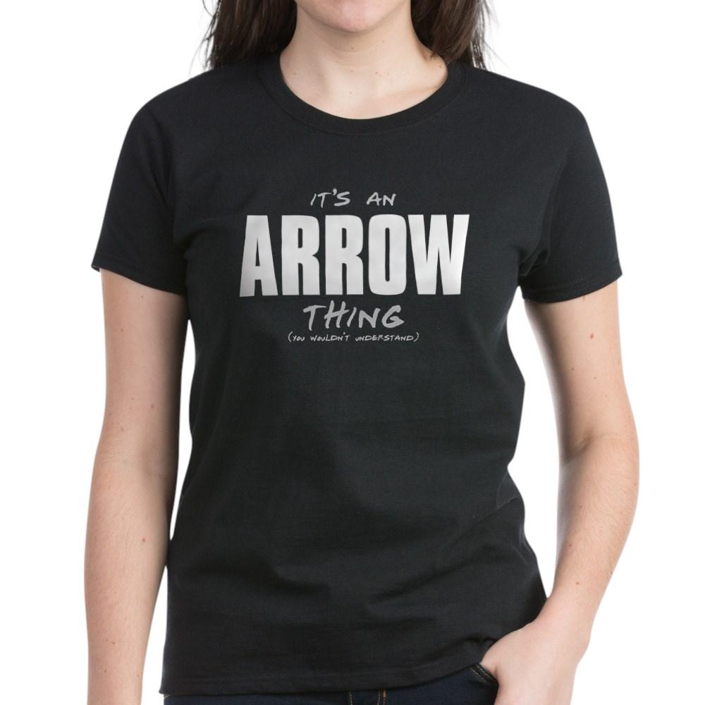 arrow thing dk Women's Dark T-Shirt