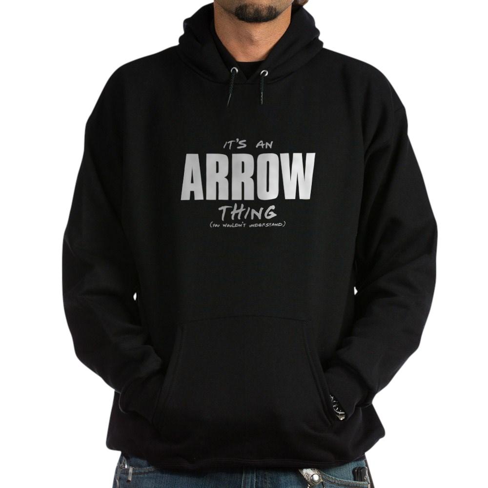 arrow thing dk Dark Hoodie