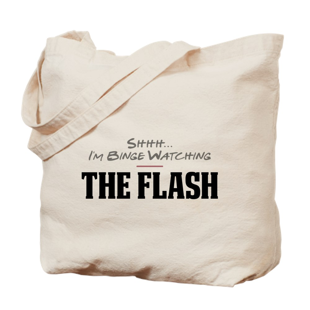 Shhh... I'm Binge Watching The Flash Tote Bag