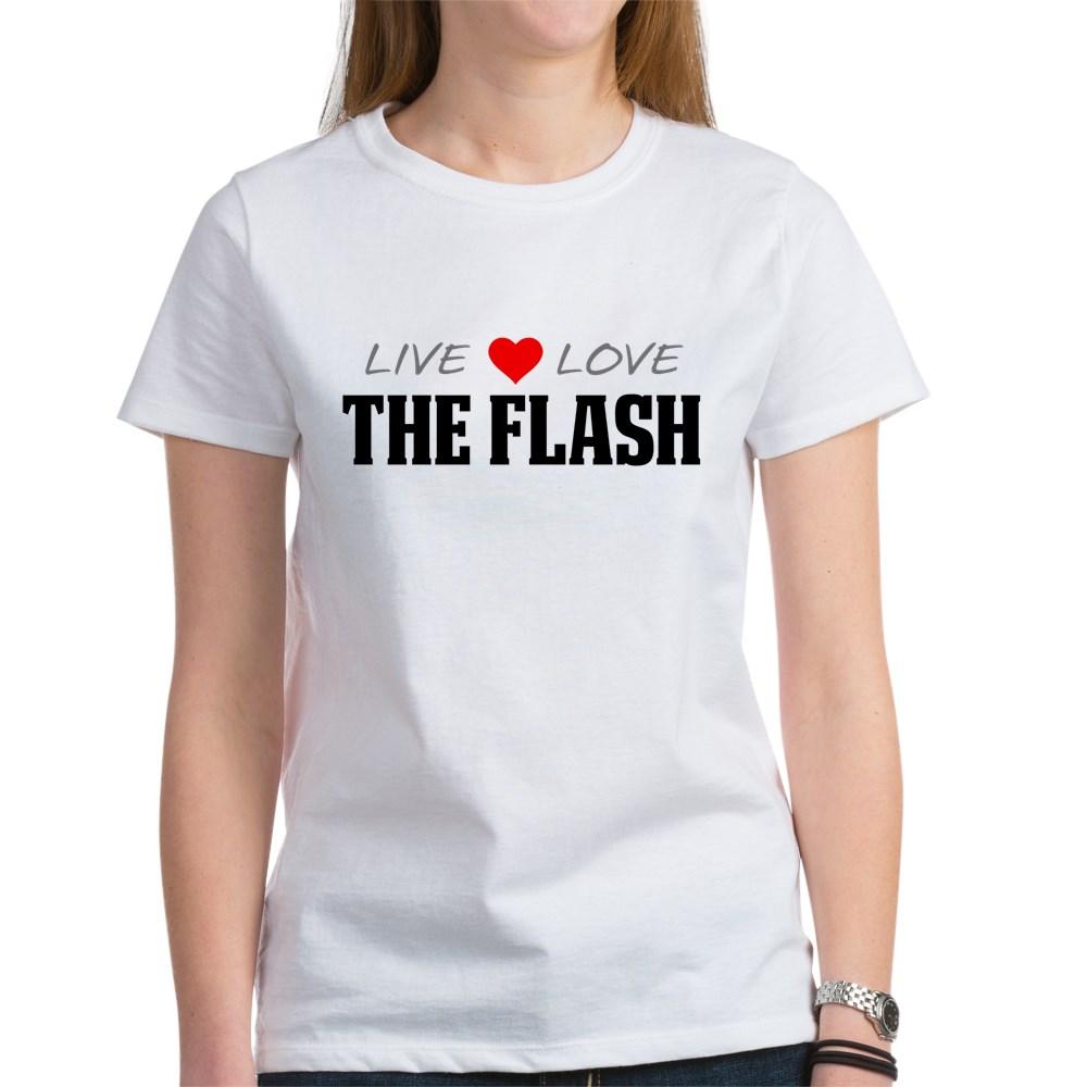 Live, Love, The Flash Women's T-Shirt