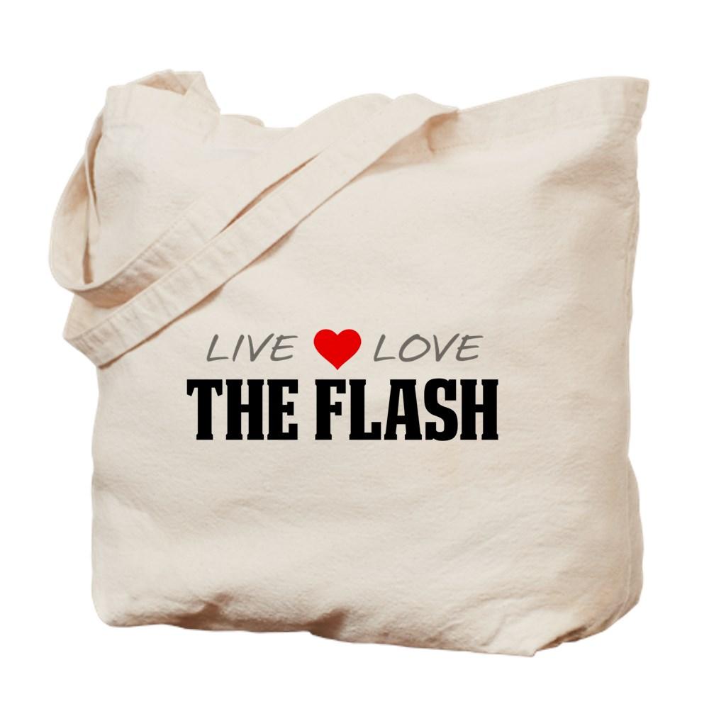 Live, Love, The Flash Tote Bag