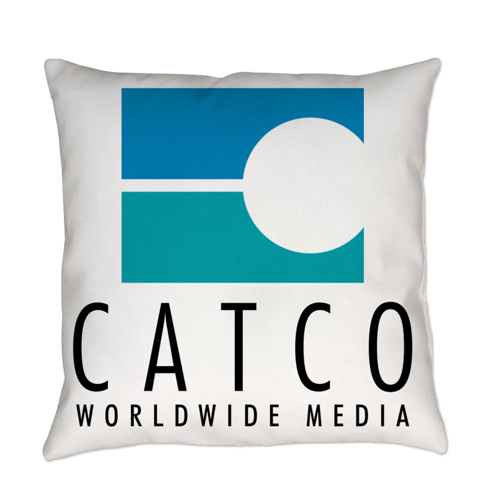 Catco Worldwide Media Logo Everyday Pillow